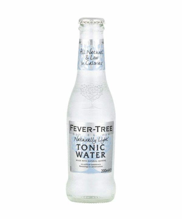 Fever Tree Naturally Light Tonic Water 200ml - The Gin Stall