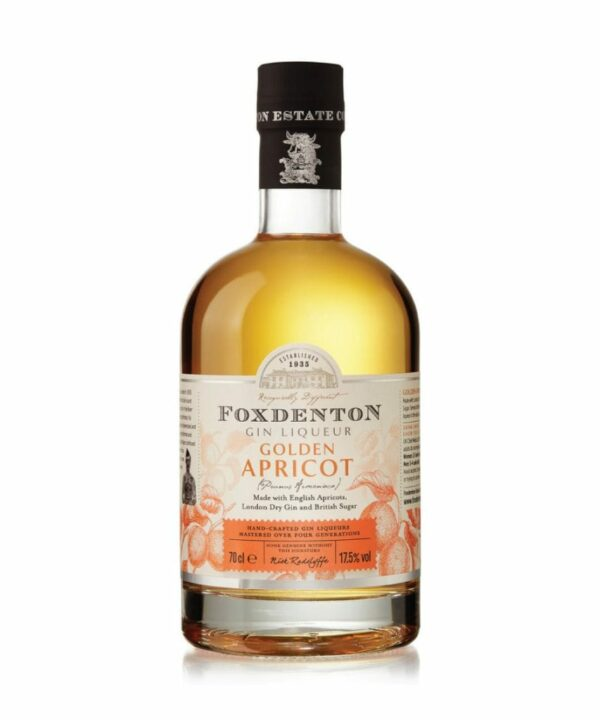 Foxdenton Golden Apricot Gin Liqueur 70cl - The Gin Stall