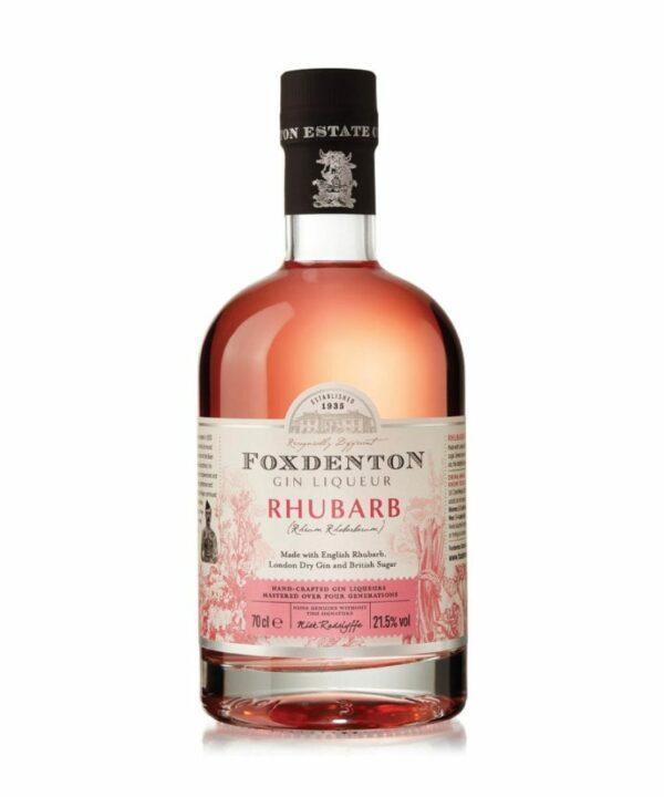Foxdenton Rhubarb Gin Liqueur 70cl - The Gin Stall