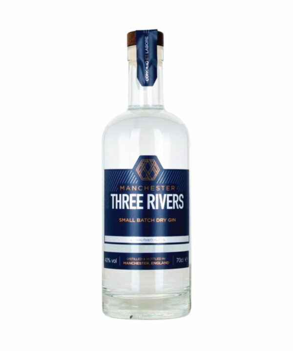 Manchester Three Rivers Gin - The Gin Stall
