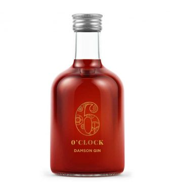 6 O Clock Damson Gin Miniature 5cl 50ml - The Gin Stall (002)