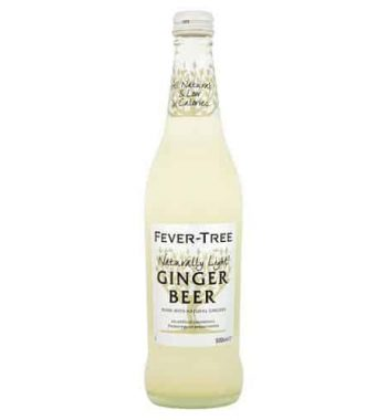 Fever Tree Naturally Light Ginger Beer 500ml
