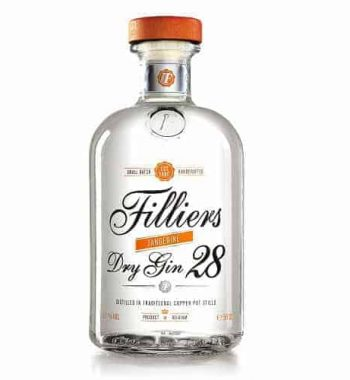 Filliers Dry Gin 28 - Seasonal Tangerine The Gin Stall