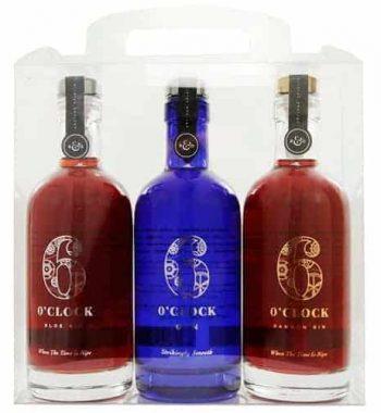 6 O'Clock Gin Trio Gift Set The Gin Stall