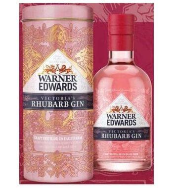 Warner Edwards Victoria Rhubarb Gin *In Gift Tin* The Gin Stall