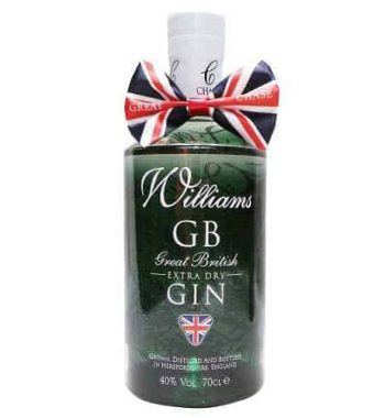 Williams Great British Extra Dry Gin The Gin Stall