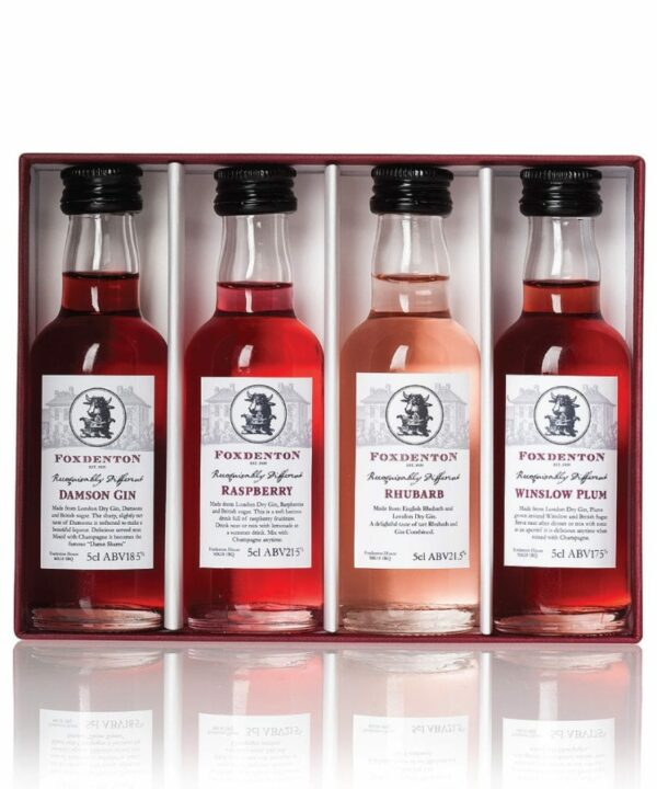Foxdenton 4 Taster Gin Liqueur Gift Set - The Gin Stall