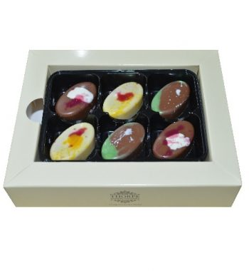 Luxury Gin Chocolate Selection Pack 6 The Gin Stall