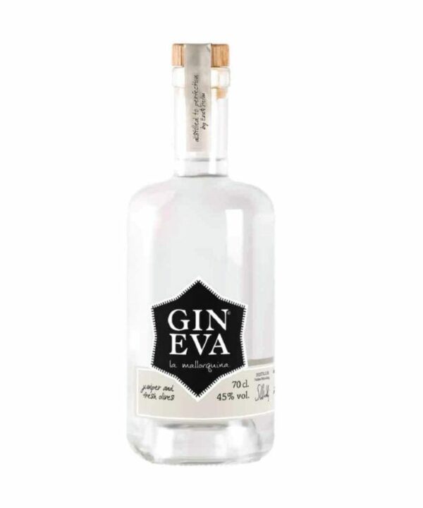 Gin Eva Mallorca Artisan Olive Extra Dry Gin - The Gin Stall