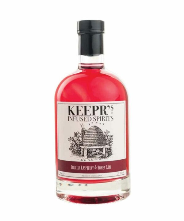Keepr's English Raspberry and Honey Gin - The Gin Stall