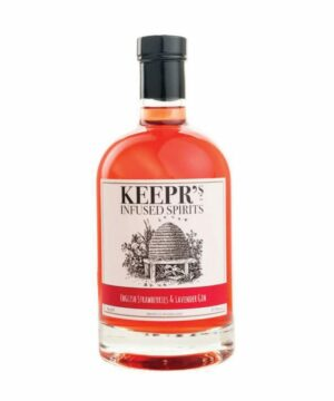 Keeprs English Strawberries & Lavender Gin - The Gin Stall
