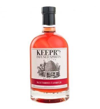 Keepr's Strawberries and Lavender Gin - The Gin Stall