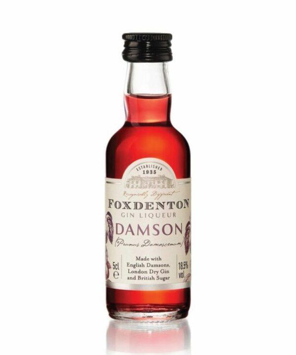 Foxdenton Damson Gin Liqueur Miniature - The Gin Stall