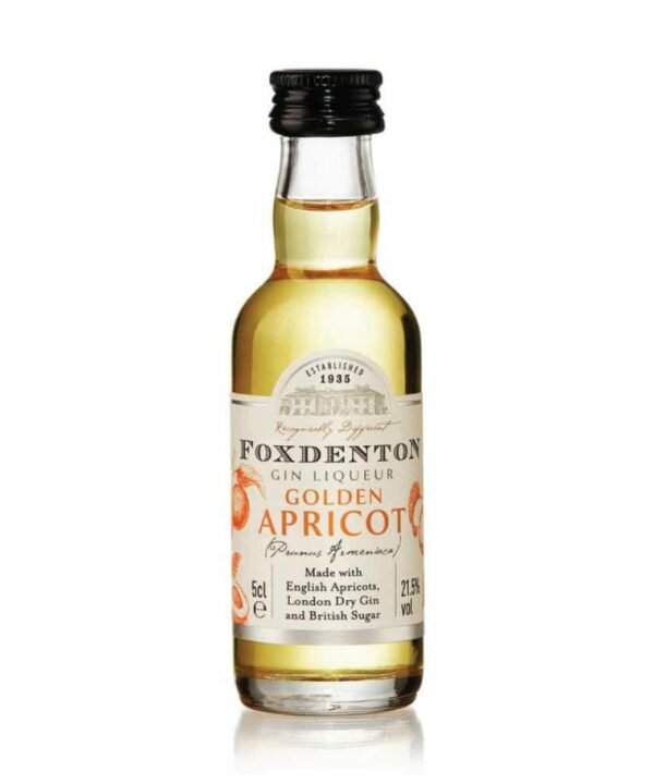 Foxdenton Golden Apricot Gin Liqueur 5cl - The Gin Stall