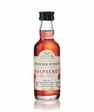 Foxdenton Raspberry Gin Liqueur Miniature - The Gin Stall