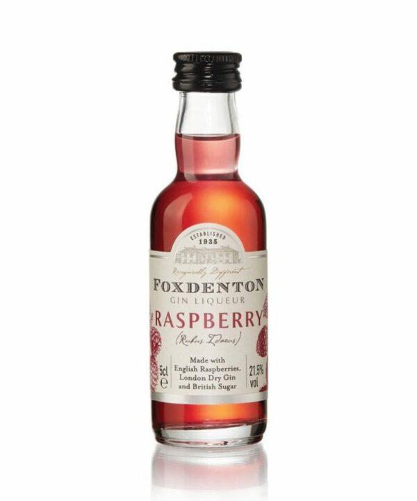 Foxdenton Raspberry Gin Liqueur 5cl - The Gin Stall