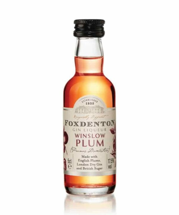 Foxdenton Winslow Plum Gin Liqueur 5cl - The Gin Stall