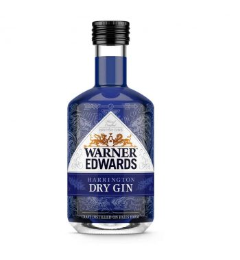 Warner Edwards Harrington Dry Gin Miniature - The Gin Stall (002)