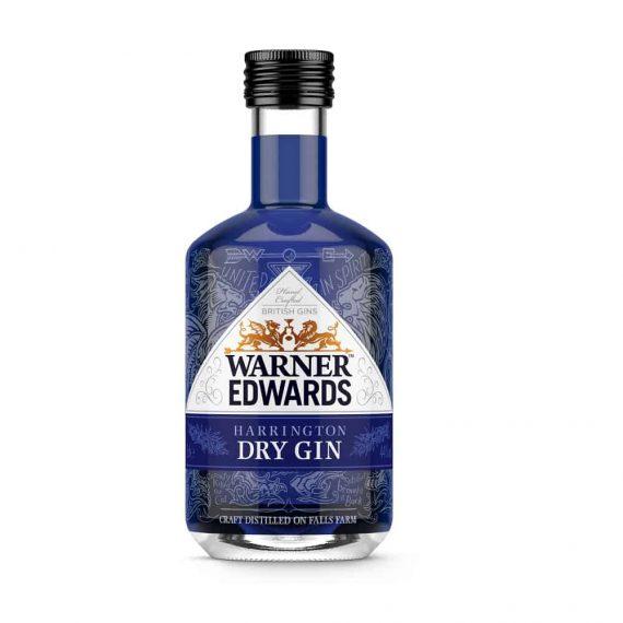 Warner Edwards Harrington Dry Gin Miniature - The Gin Stall (002)
