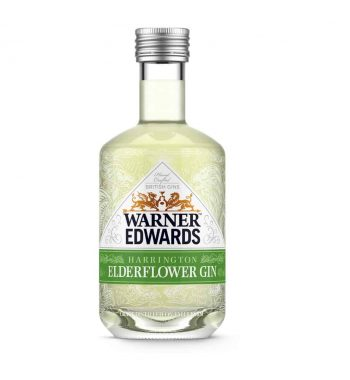 Warner Edwards Harrington Elderflower Gin Miniature - The Gin Stall (002)