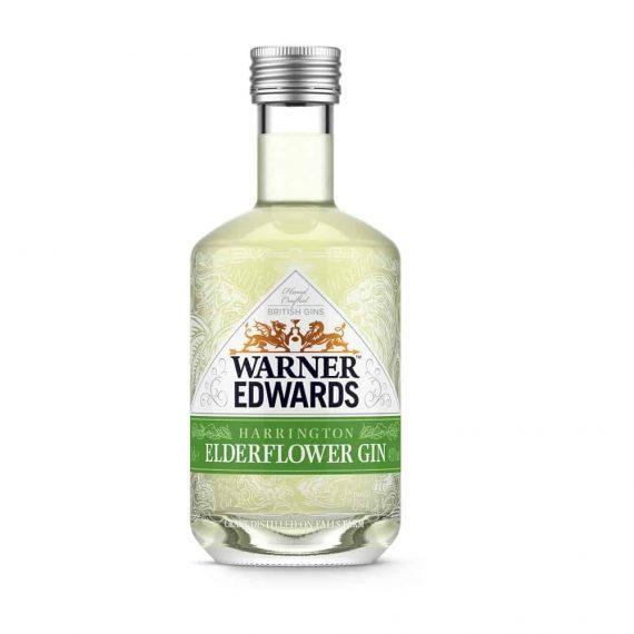 Warner Edwards Harrington Elderflower Gin Miniature - The Gin Stall (002)