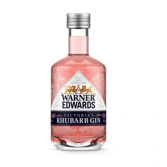Warner Edwards Victorias Rhubarb Gin - The Gin Stall (002)