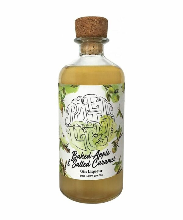 Poetic Licence - Basked Apple & Salted Caramel Liqueur - The Gin Stall