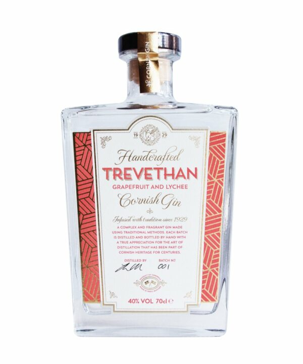 Trevethan Grapefruit & Lychee Gin - The Gin Stall