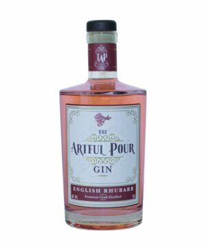 The Artful Pour English Rhubarb Gin - The Gin Stall