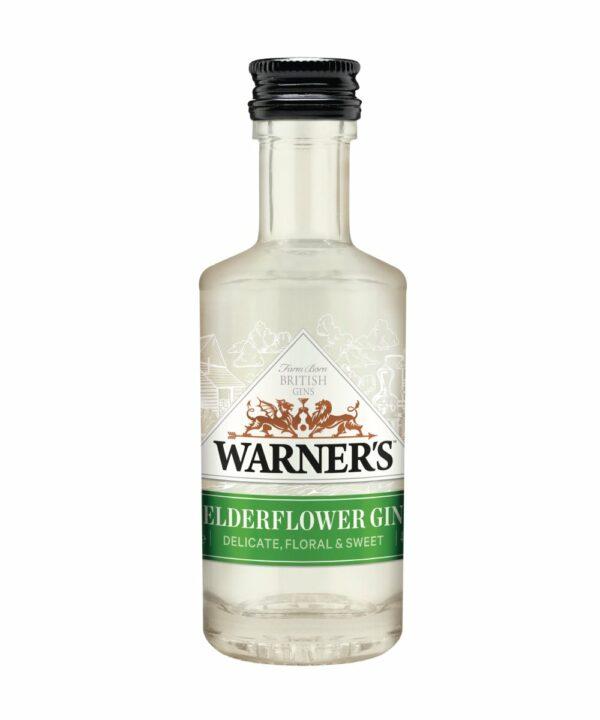 Warners Elderflower Gin Miniature - The Gin Stall