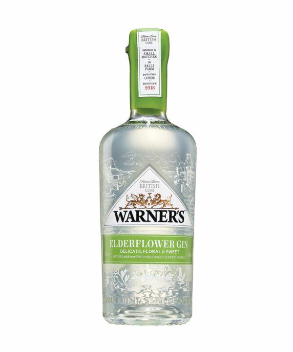 Warners Elderflower Gin - The Gin Stall