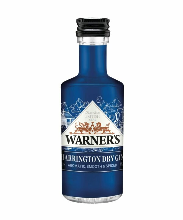 Warners Harrington Dry Gin Miniature - The Gin Stall