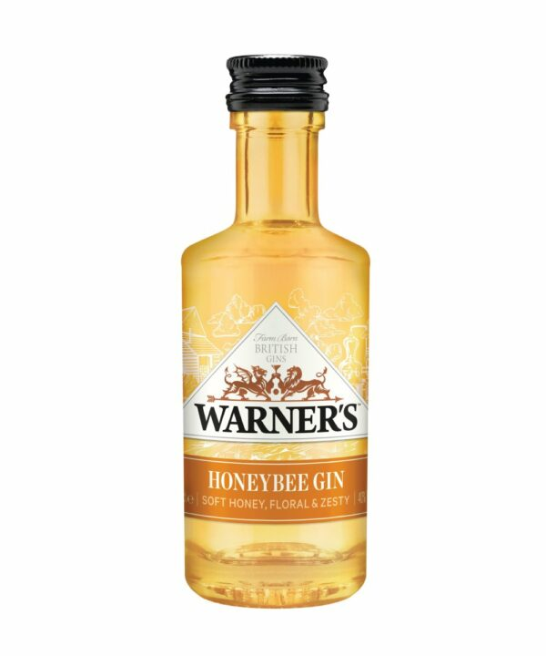 Warner's Honeybee Gin Miniature