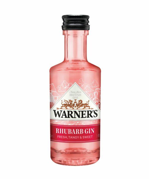 Warner's Rhubarb Gin Miniature