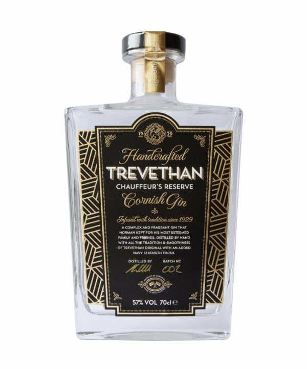 Trevethan Chauffeurs Reserve Gin - The Gin Stall