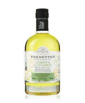 Foxdenton Lemon & Cucumber Gin - The Gin Stall