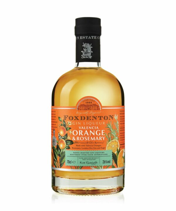 Foxdenton Orange and Rosemary Gin Liqueur - The Gin Stall