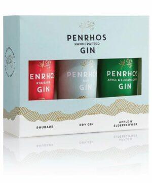 Penrhos Mini Trio Gin Gift Set - The Gin Stall