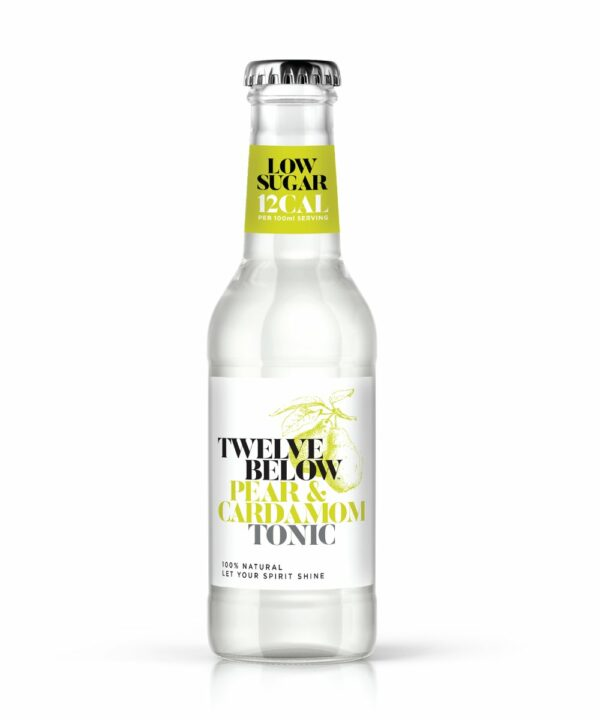 Twelve Below Pear & Cardomom Tonic Water - The Gin Stall