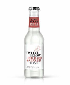 Twelve Below Rhubarb & Ginger Tonic Water - The Gin Stall