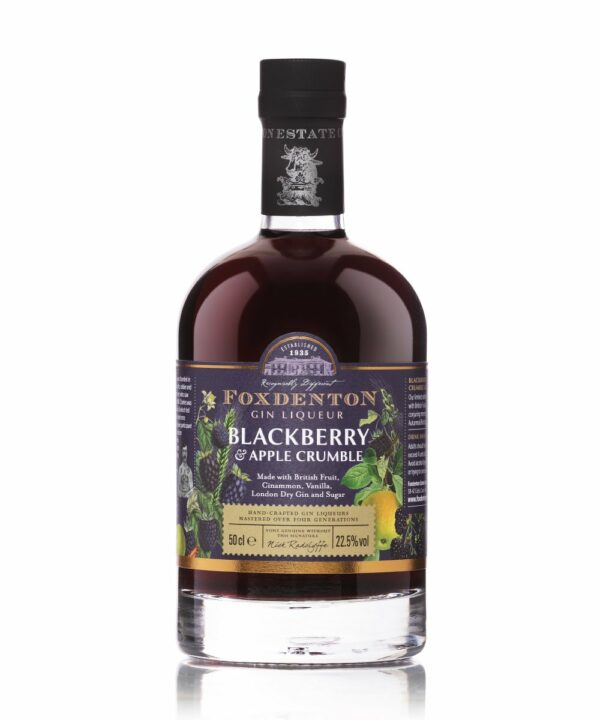 Foxdenton Blackberry & Apple Crumble Gin Liqueur - The Gin Stall