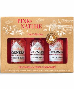 Warners PINK by NATURE Gin Gift Set - The Gin Stall