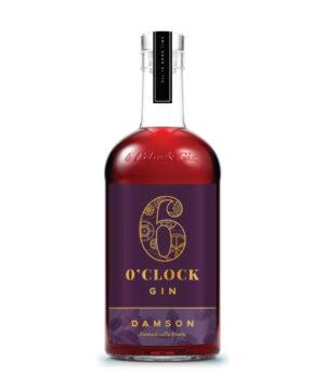 6 O Clock Damson Gin - The Gin Stall