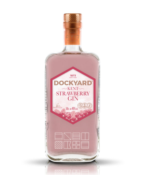 Dockyard Kent Strawberry Gin - The Gin Stall