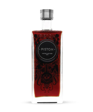 Piston Coffee Infused Gin - The Gin Stall