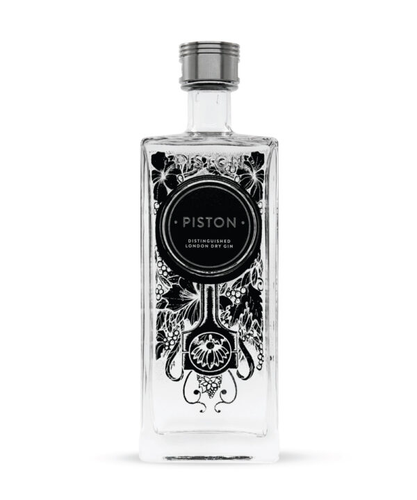Piston Distinguished London Dry Gin - The Gin Stall