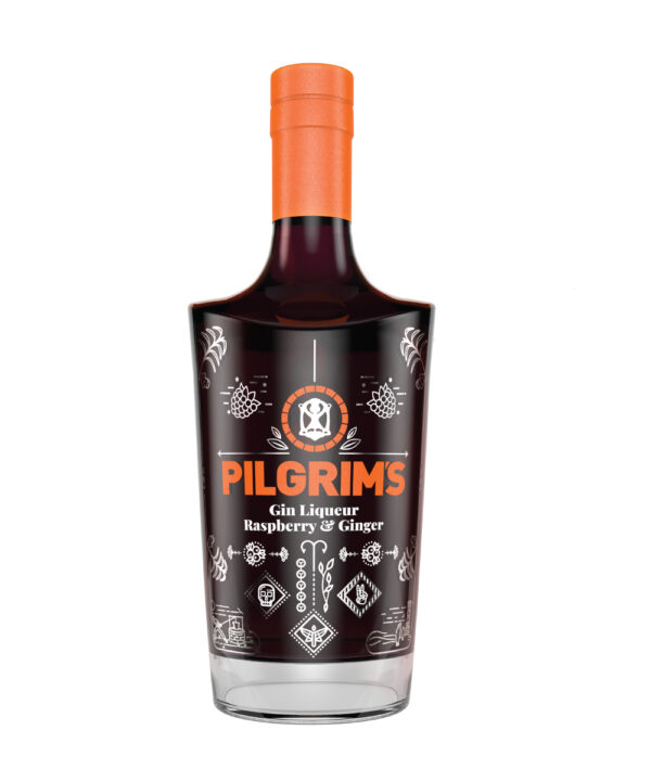 Pilgrims Raspberry & Ginger Gin Liqueur - The Gin Stall
