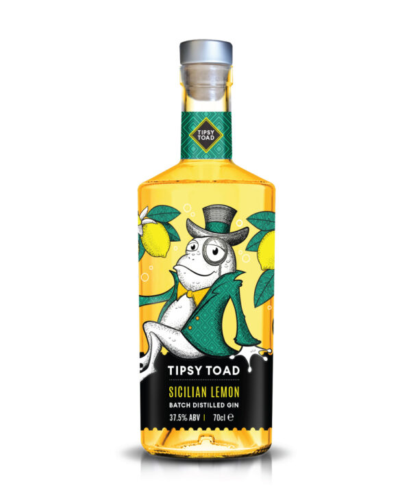 Tipsy Toad Sicilian Lemon Gin - The Gin Stall