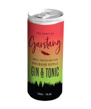 Spirit of Garstang Rhubarb Ripple Gin & Tonic - The Gin Stall