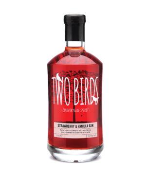 Two Birds Strawberry & Vanilla Gin - The Gin Stall